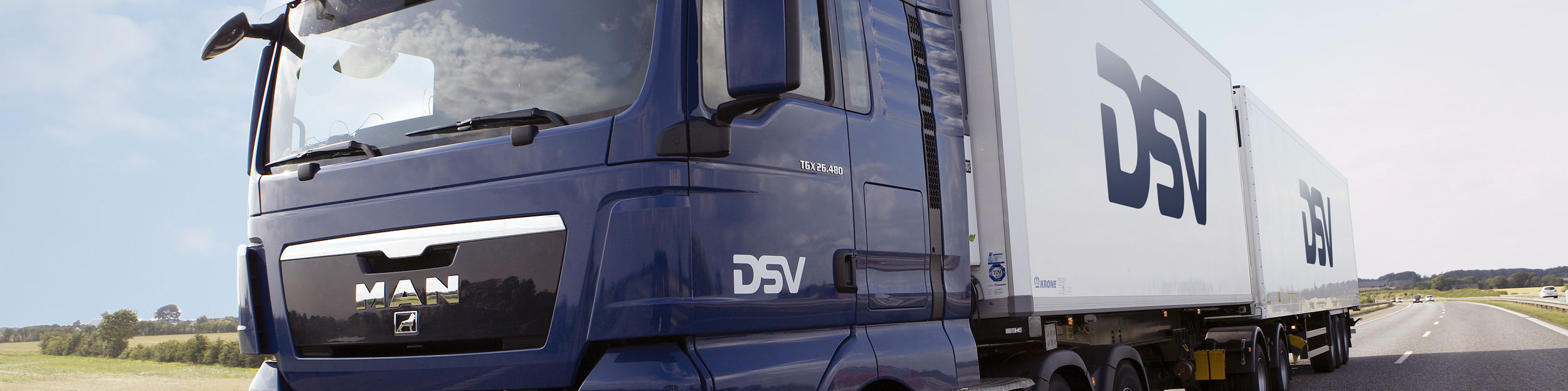 DSV lastbil