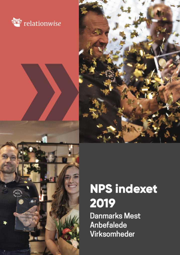 NPS indexet 2019 Danmarks Mest Anbefalede Virksomheder