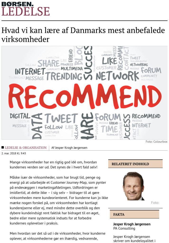 Børsen Ledelse: Hvad vi kan lære af Danmarks mest anbefalede virksomheder